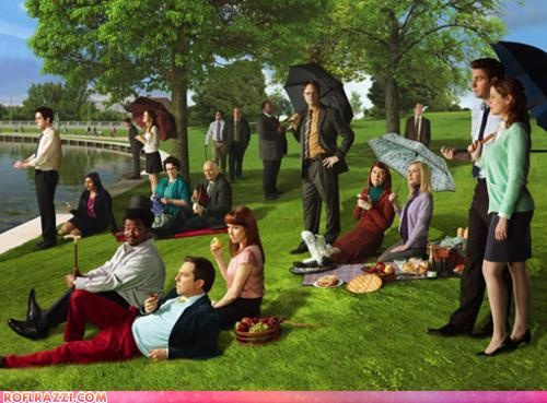 Sunday in the Park with The OfficeTheoffice, Favorite Tv, Large Bowl, Favorite Things, Art, Funny Stuff, The Offices, Sunday Afternoon, George Seurat