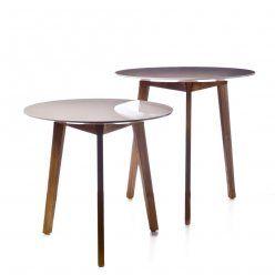 adairs Home Republic Dane Side Tables Blush $90