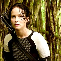 The Hunger Games – Catching Fire – Katniss Everdeen – Jennifer Lawrence  - Behind the scenes... Oh Jennn :)