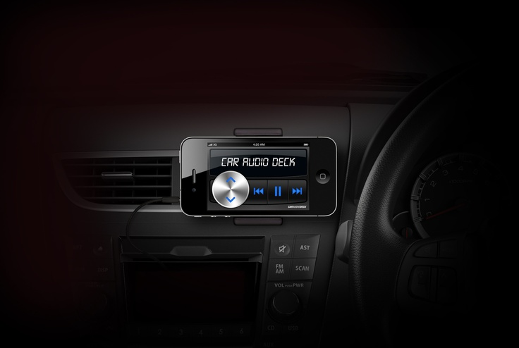 Car Audio Deck app for iPhone & iPod touch.    #app #iphone #car #audio #deck