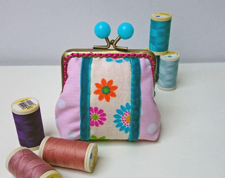 Turquoise vintage purse