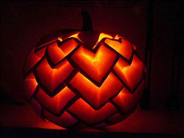 30 best cool creative scary halloween pumpkin carving ideas 2013 - Cool Halloween Pumpkin Designs