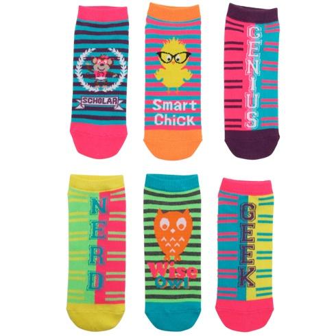 Womens MinicciWomen's (3 pk) Smart Chick Low-Cut Socks at Payless