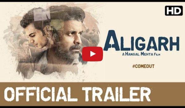Manoj Bajpai & Rajkummar Rao starter Bollywood Movie Aligarh's Trailer
