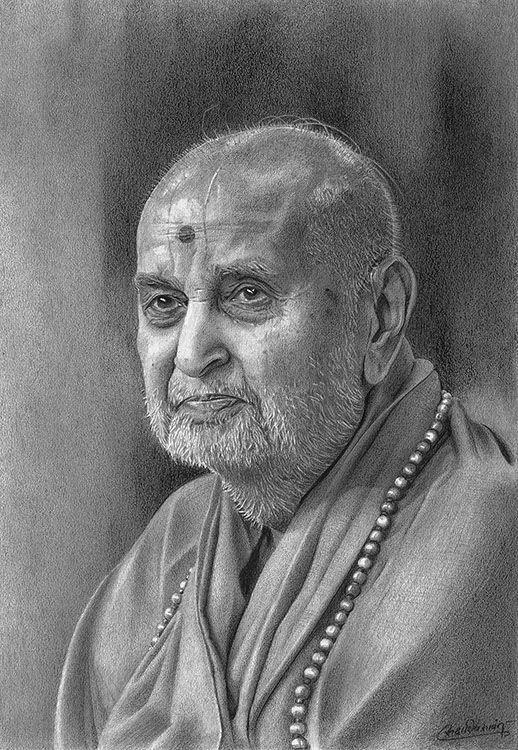Pramukh Swami Maharaj. by Sadashiv.deviantart.com on @deviantART