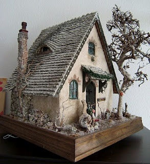 Carolas Storybook Cottages, done in a class by Rik Pierce