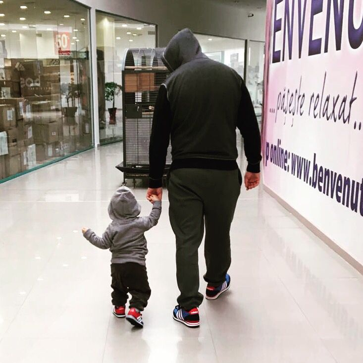 Father and son #adidas