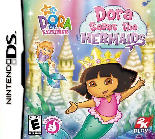 Dora the Explorer: Dora Saves the Mermaids – Nintendo DS http://gamegearbuzz.com/dora-the-explorer-dora-saves-the-mermaids-nintendo-ds/