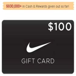 How To Get A $100 Nike Gift Card - Nike is a brand which needs no introduction. National Consumer Center is giving away a $100 Nike's shopping card. You can sign up here by entering only your email address for a chance to get the $100 Nike gift card. You'd regret later if you don't take action now. Submit your email address here!