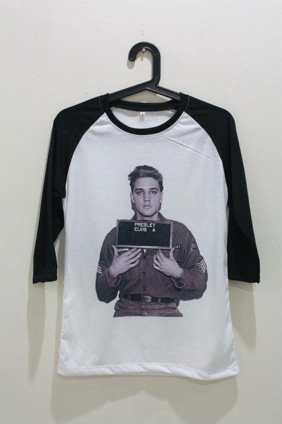 Elvis Presley Shirt Mug Shot Shirt TShirt Unisex by ChicMyStyles