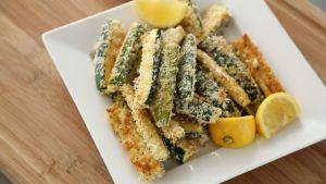 Frites de courgettes au parmesan « Maigrir Sans Faim