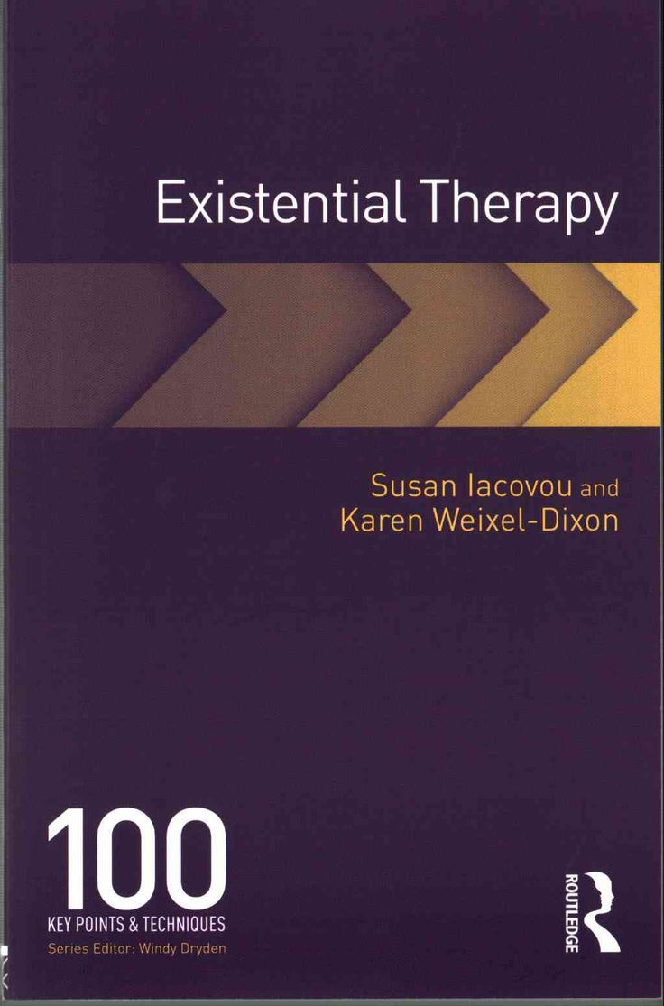 existentialism therapy Existential therapy is a form of psychological counseling that is rooted in the ideals and philosophies of existentialism.