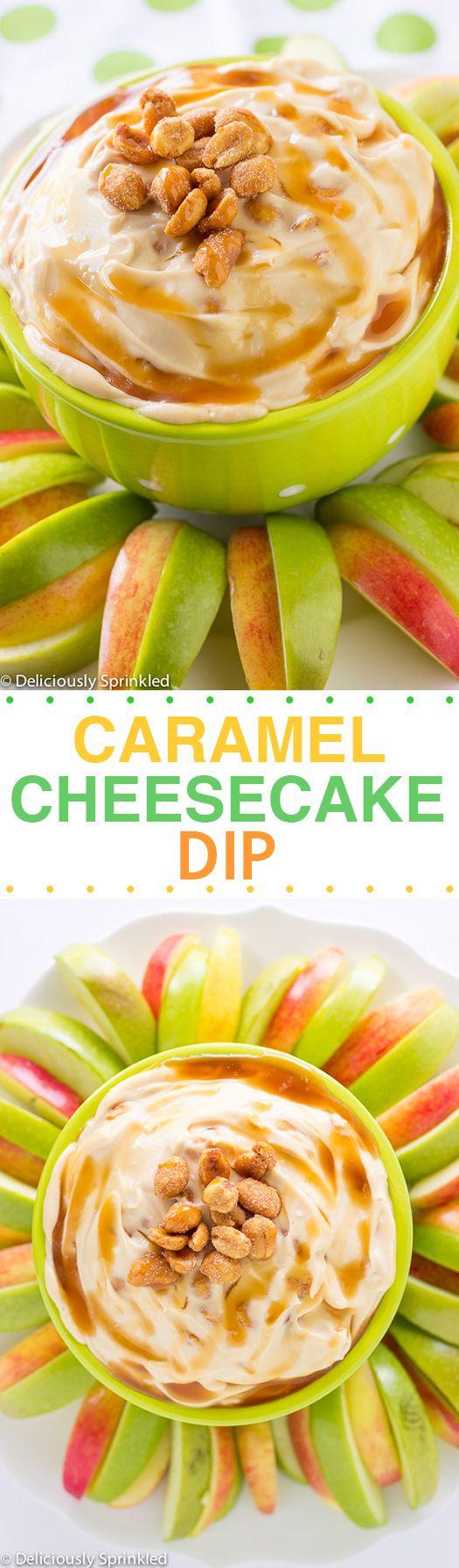Quick & Easy To Make: Caramel Cheesecake Dip