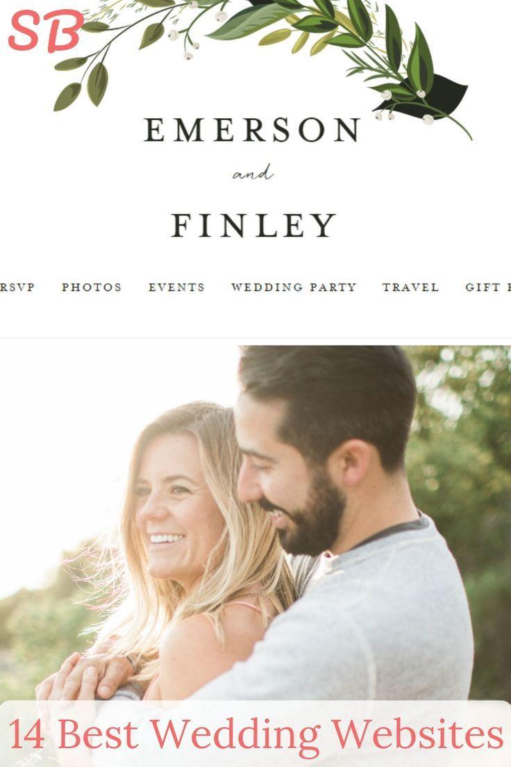 The 14 Best Wedding Websites Website Builders Weddings Made Easy Best Wedding Websites Wedding Website Design Wedding Website