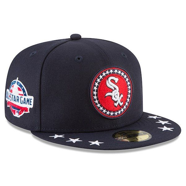 797be27ab ... switzerland mens chicago white sox new era navy 2018 mlb all star  workout on field 59fifty