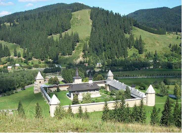 "Monasteries are the main ""attraction"" of a particular area in Romania."