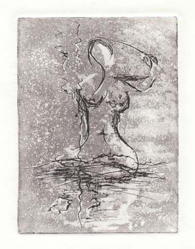 Lady Bathing by Melanie Meyer prints available for purchase