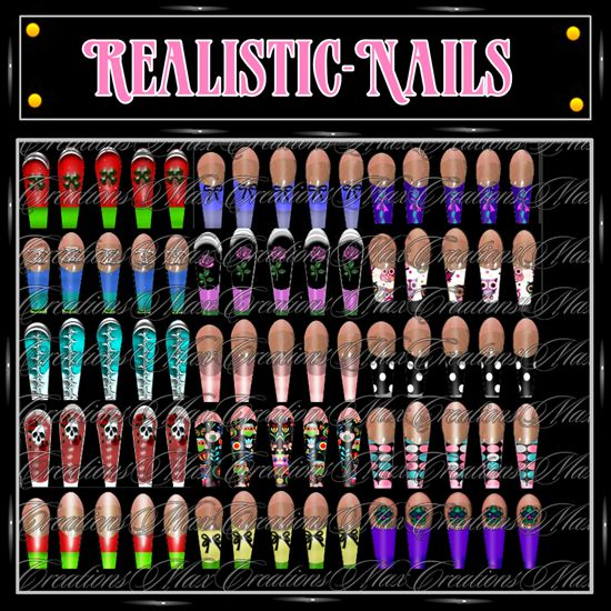 Free Comic Book Day Uk Store Locator: Realistic Look Nails By CaryR.deviantart.com On