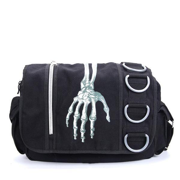 Skeleton Waterproof Messenger bag