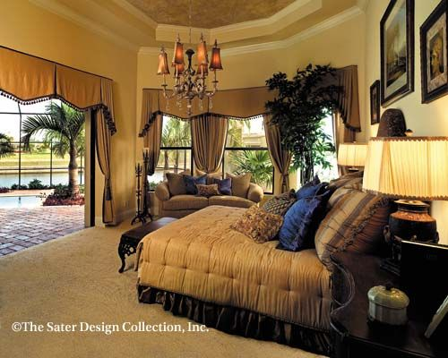 52 best images about sumptuous master bedrooms the sater for Sater design ferretti