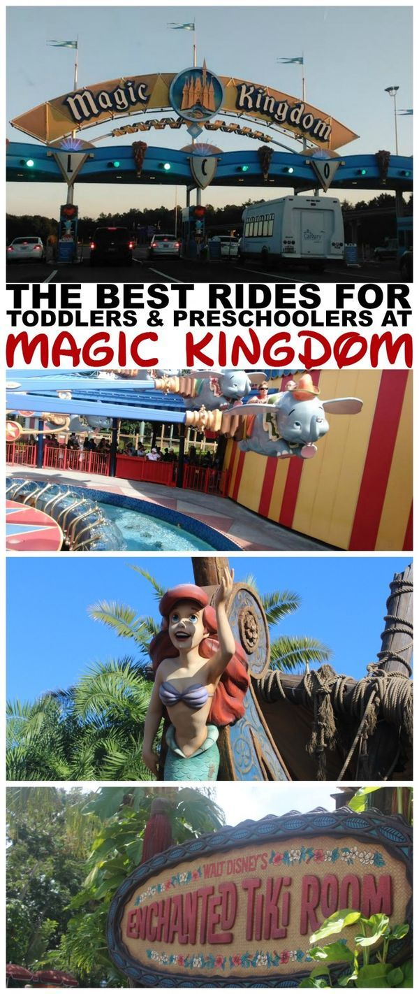 The Best Rides & Attractions for Toddlers and Preschoolers at Magic Kingdom in Walt Disney World Resort. Family travel tips to make your trip more enjoyable!