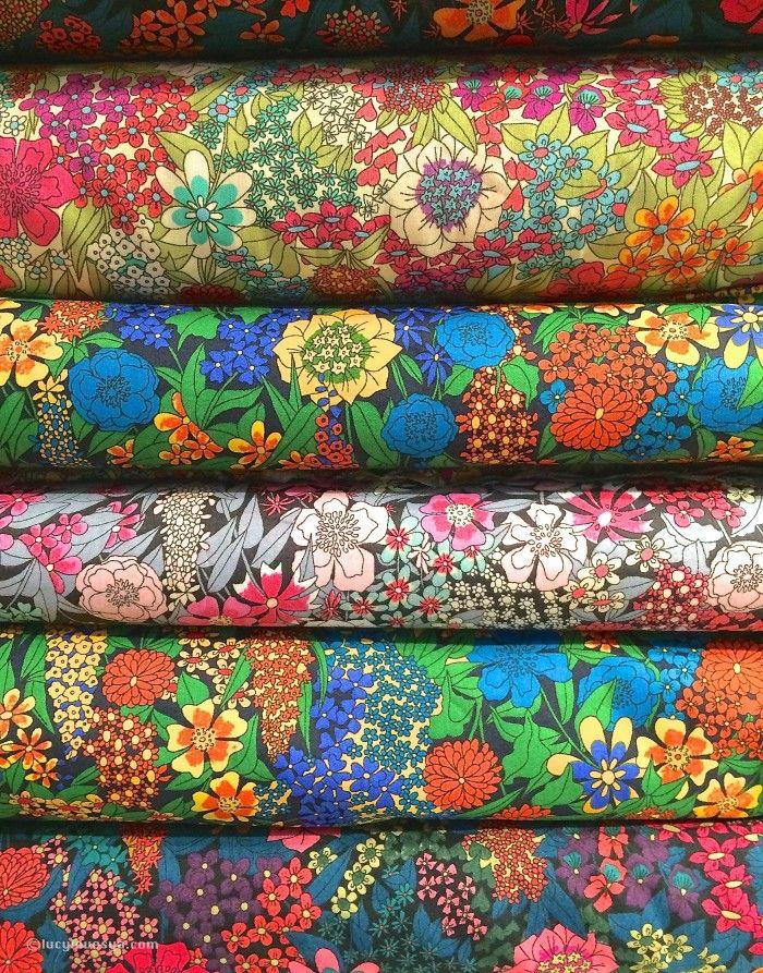 Liberty Print Fabrics.