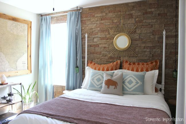 Southwestern bedroom