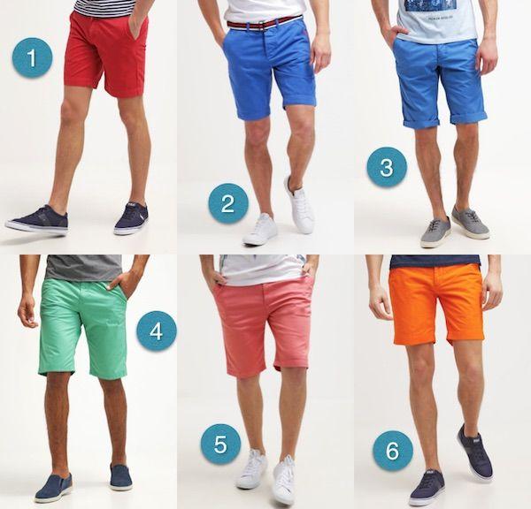 comment choisir un short homme colore