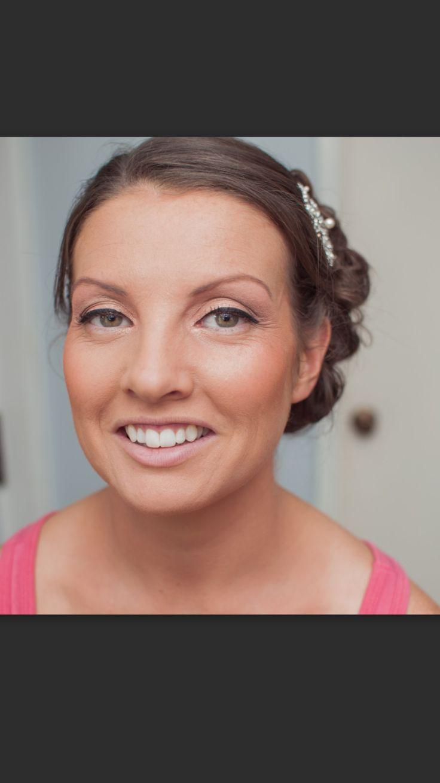 Beautiful eyebrows bridal www.makeupandhairbyhannah.com