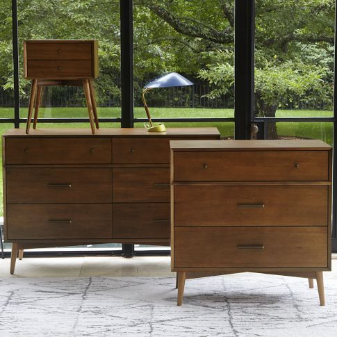 Where has this mid-century bedroom set been all my life!? ::want-want-want:: via West Elm
