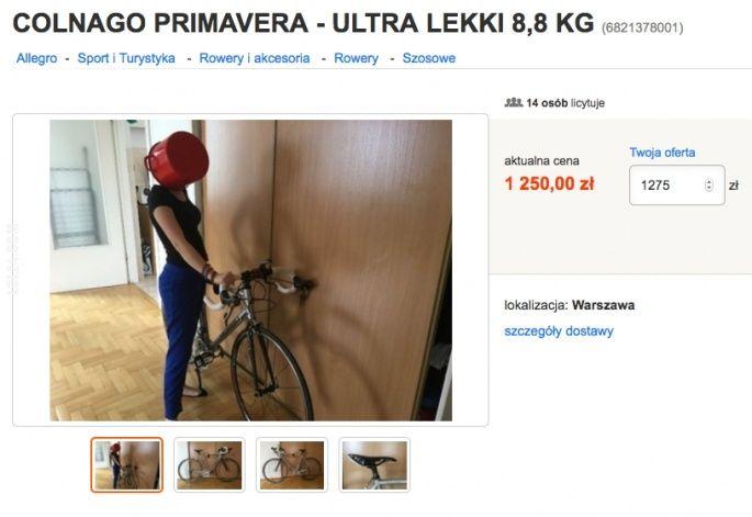 Sprzedam rower COLNAGO PRIMAVERA - ULTRA LEKK #rower #twarz #garnek