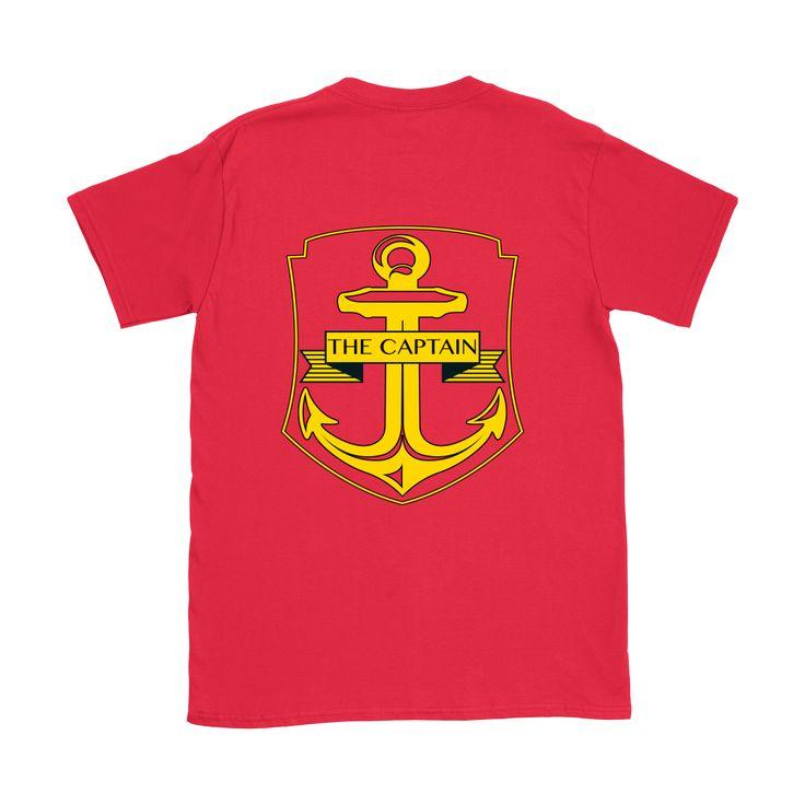 The Captain - Anchor - Crew Neck Tee