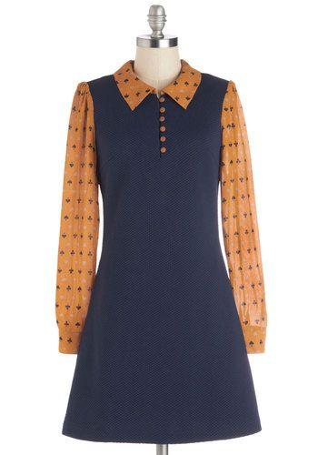 So Carol Brady - love it! (Deal Me In Dress, #ModCloth)