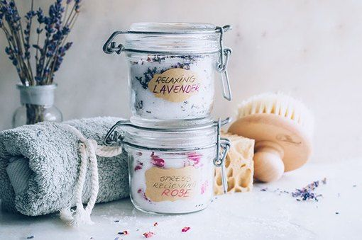 These Beautiful DIY Bath Salts Are Ideal Gifts (Be Sure to Make One for You, Too!)