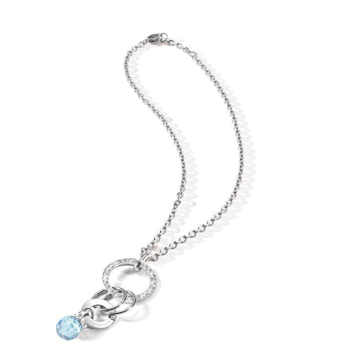 Luxusní dámský náhrdelník z chirurgické oceli Morellato Eclipse SRR11