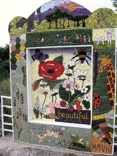 One of the Well Dressings at Youlgreave by janet7r, via Flickr