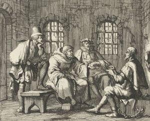 Anabaptist Martyrs | Jacob the candle maker disputing with Brother Cornelis. Jacob was ...