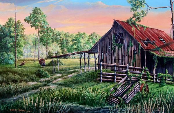 The Old Florida Cracker Cowboy barns, were often used simply as temporary stop overs for the cowboys that spent most of their time transporting cattle for long distances.