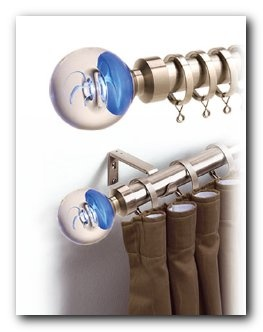 82.37 150cm 28mm  Serene Smoke Rings Blue  Curtain Pole Satin Silver   http://www.curtains2bedding.com/28mm-serene-smoke-rings-blue-curtain-pole-satin-silver