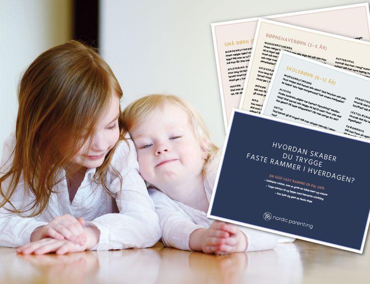 Se hvilke faste rammer dine børn har brug for, alt efter hvor gamle de er - Nopa  Pdf'er :)