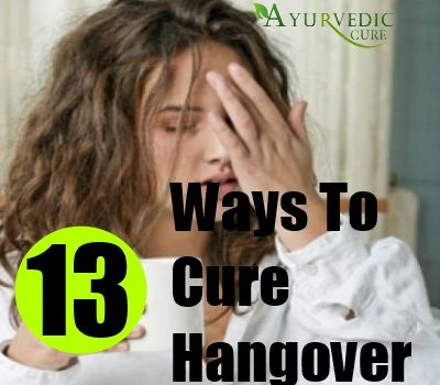 How To Cure Hangover