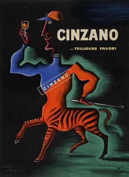 ¤ Cinzano.. toujours favori ! by Jean Georges Léon Carlu. | Flickr