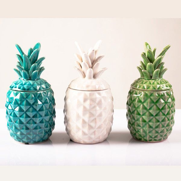 PINEAPPLE JAR // Bonnie Bazaar // these are sold out but I want something like…