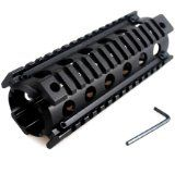 Military Gear AR-15/M4 Aluminum Carbine Quad Rail 4-Weaver/Picatinny Rail Aluminum Handguard by Ade Advanced Optics