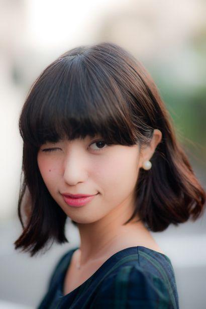 黒髪ロングに憧れるミディアム女子へ。透明感たっぷり暗髪ヘアカタログ MERY [メリー]