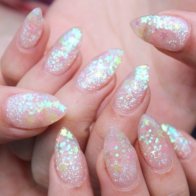 Best 25+ Glitter gel nails ideas on Pinterest | Silver ...