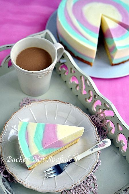 Joghurt- Zebrakuchen