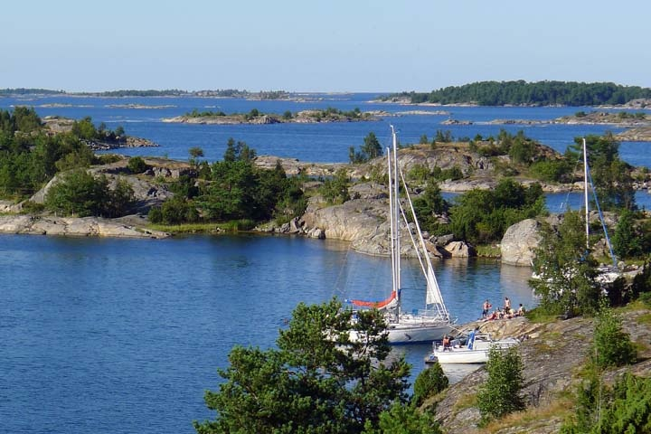 Can't wait to go back this year! Sea Kayaking in the St Anna Archipelago, Sweden's Baltic coast
