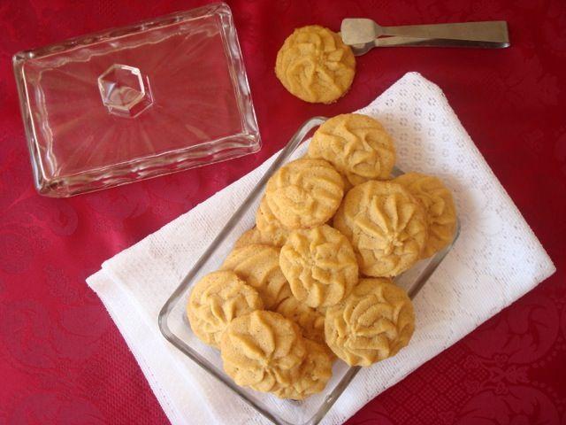 Sušenky z kukuřičné a rýžové mouky s javorovým sirupem | Biscuits with Corn Flour, Rice Flour and Maple Syrup - www.vune-vanilky.cz