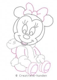 Baby Minnie kerst